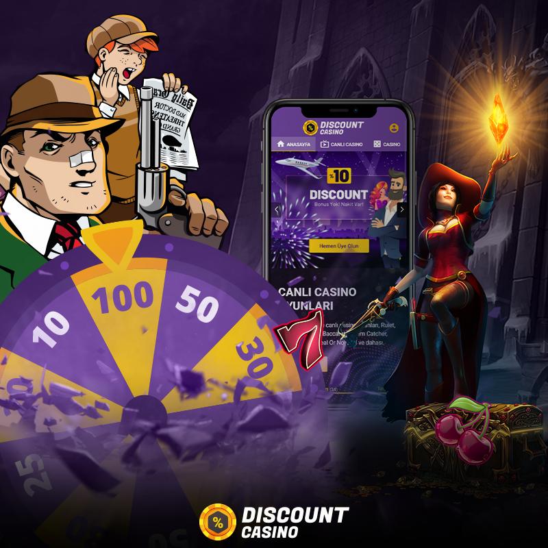 Discount Casino'da Oynayanlar Kazanıyor